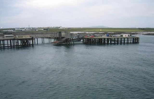 Gott Bay Pier, Isle of Tiree