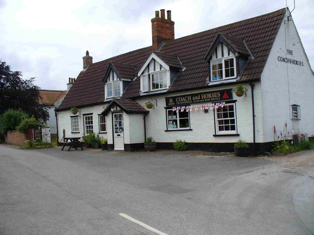 The Coach and Horses, Hemingby, Lincolnshire.