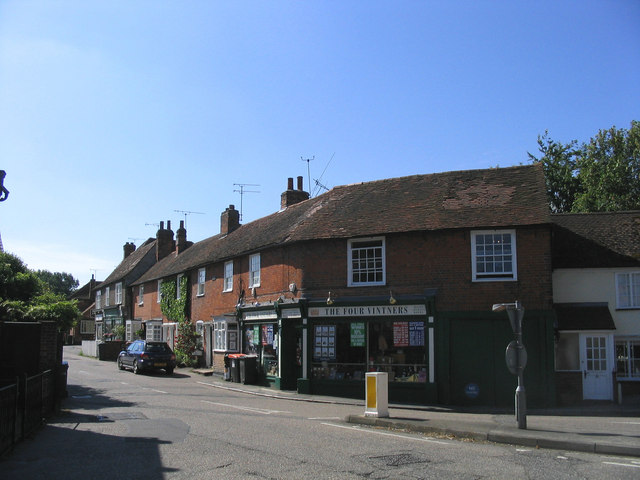 Village shops, Stock, Essex