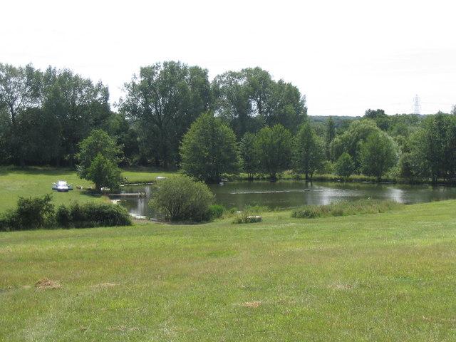 Fishing Lake - Gay Bowers