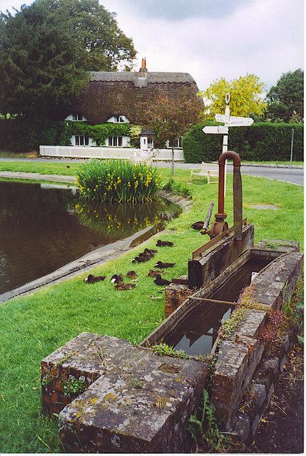 Village Pond and Cistern, Crawley.