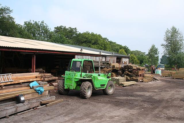 Monkton: sawmills
