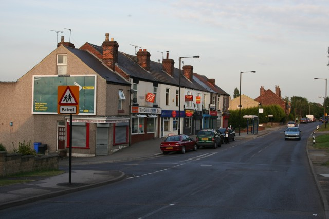 Shops, Beighton Road, Woodhouse
