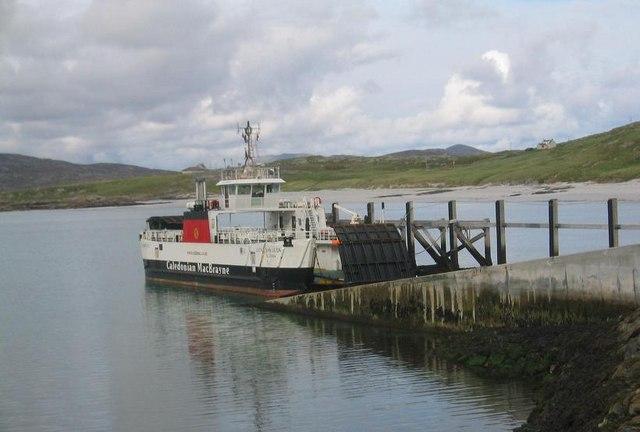 Eriskay Ferry Terminus