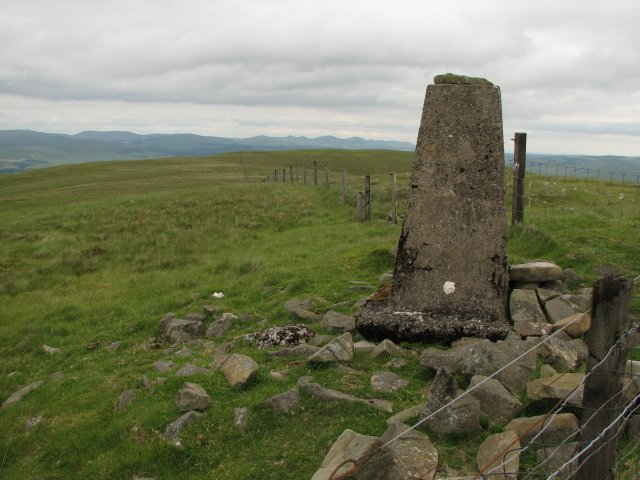 Trig point, Pyked Stane Hill