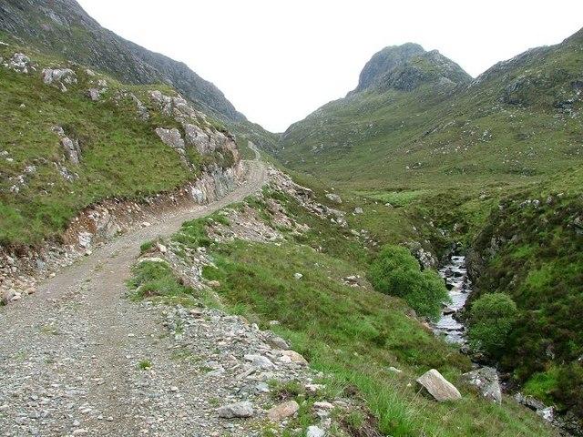 Stalkers' Track, Glen Coul