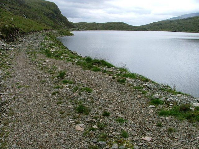 Track Along the Eastern shore of Loch an Eircill