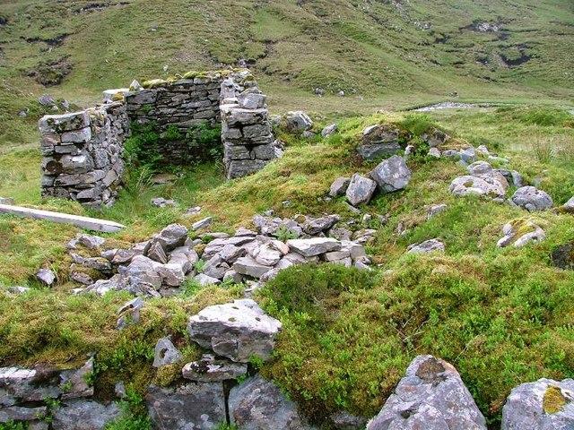 Ruin, Near Loch an Eircill