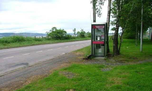 Telephone Box, B9039, Wester Kerrowgair
