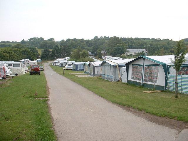 Campsite near Haulfryn