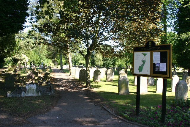 The Old Cemetery, Ipswich