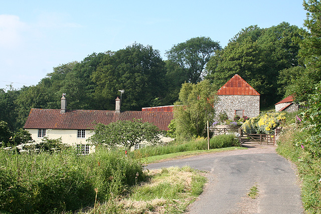 Luppitt: Hill End Farm