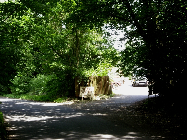 Entrance to Wilton Forestry
