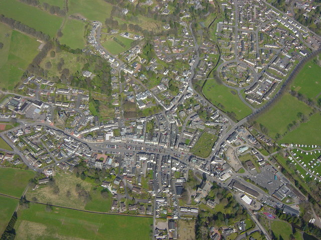 Aerial View of Moffat