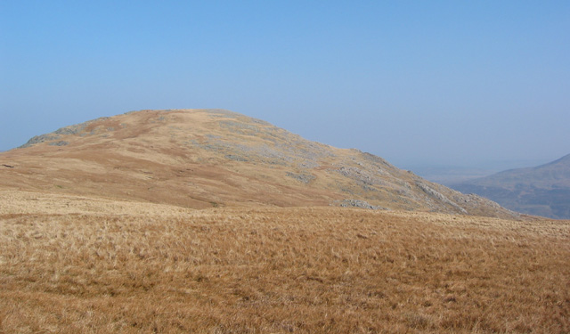 Y Foel Goch summit