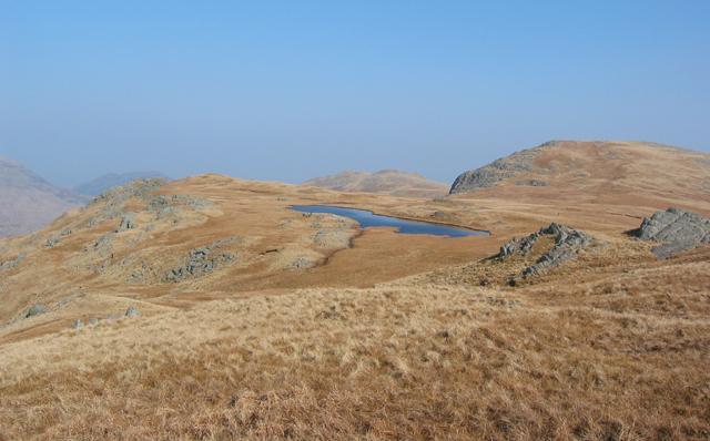 Llyn y Gaseg-Fraith and Y Foel Goch