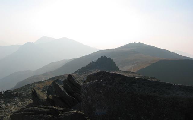 Castell y Gwynt  silhouette