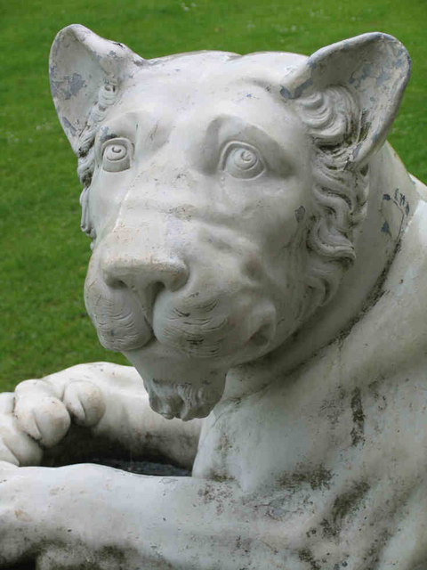 Lion Statue, West Wycombe House