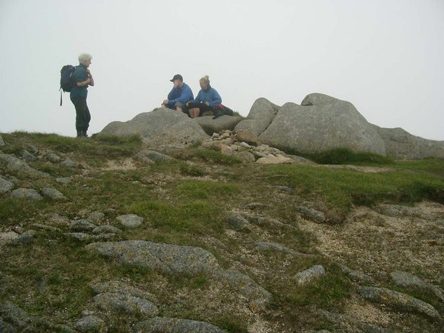 The summit of Beinn Nuis