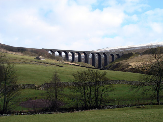 Artengill Viaduct from the West