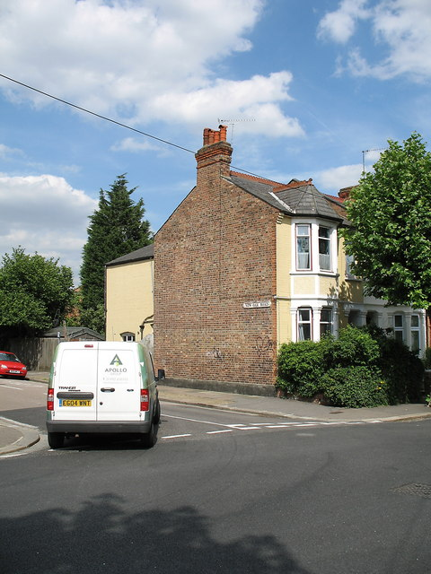 Junction Of New Oak Road with Long Lane