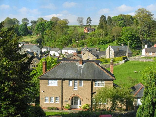 Village of Llanrhaeadr ym Mochnant