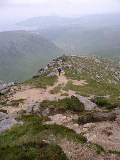 South ridge of Beinn a Chliabhain