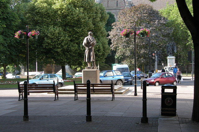 The Elgar Statue