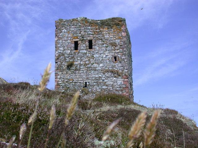 Castle on Ailsa Craig