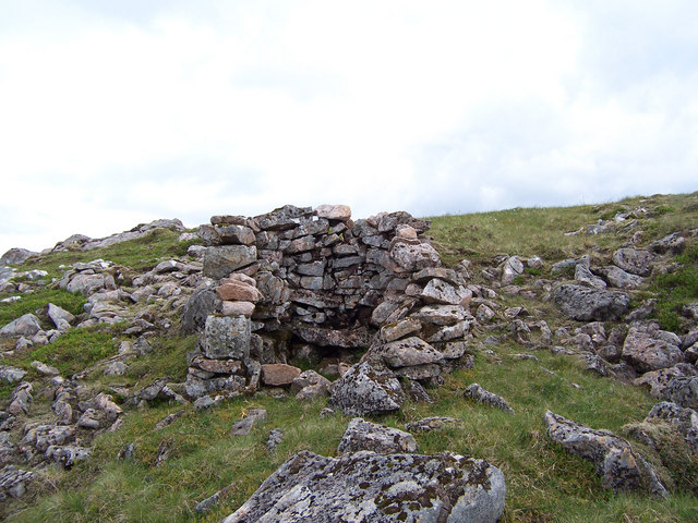 A drystane stalker's shelter
