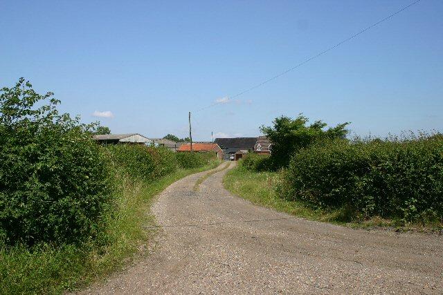 Driveway to Samples Farm, Great Ashfield