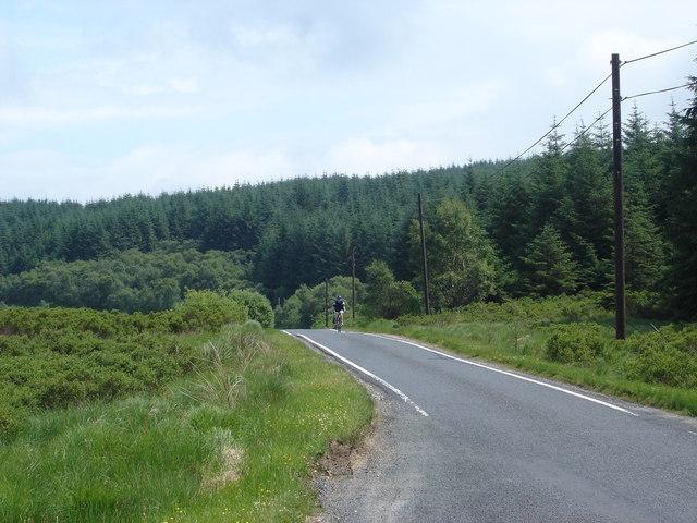 Descent from Loch Tarsan to Loch Striven