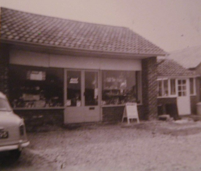 The Old Pennymoor Shop, 1960s