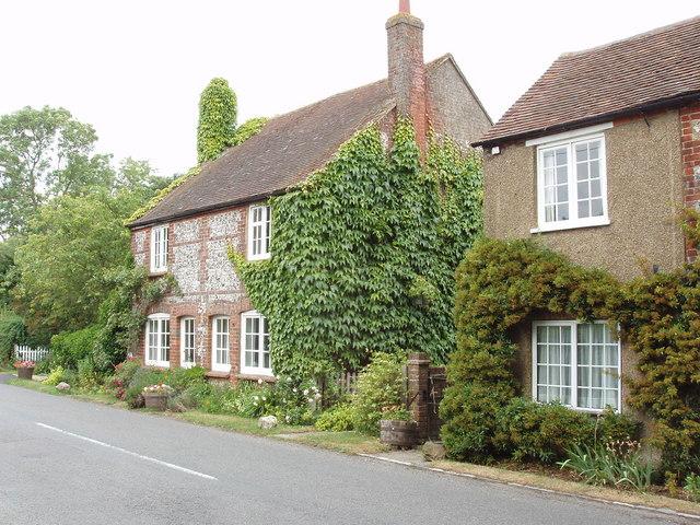 Cottages by Park Farm, near South Heath