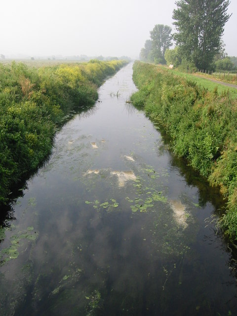 The River Brue taken from B3151 Bridge