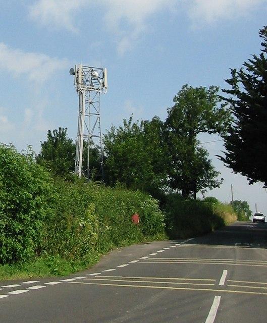 Mobile Phone Mast on Tintinhull Road