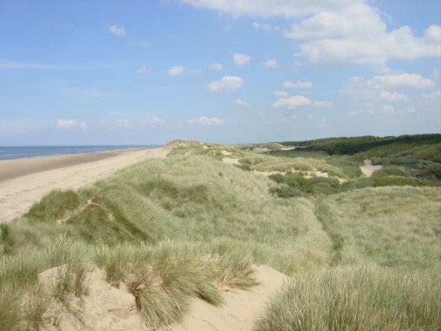 Sand Dunes and Beach, Freshfield