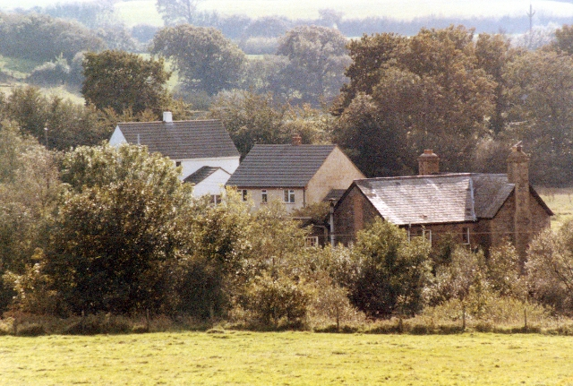 Houses at East Anstey