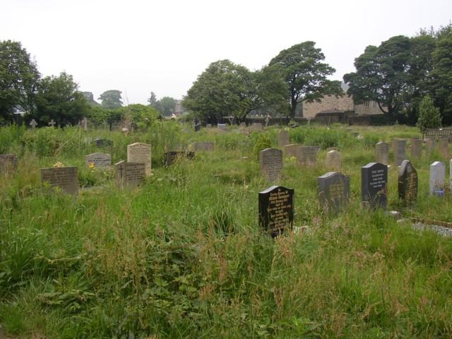 The New Graveyard, Heptonstall