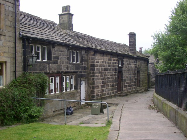 The museum, Heptonstall