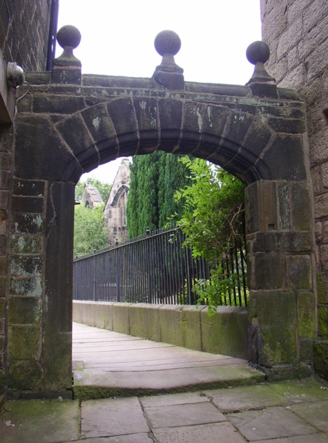 The Great North Gate, Heptonstall