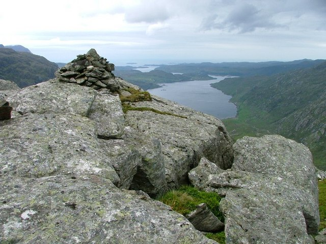 Summit Cairn, Stack of Glencoul