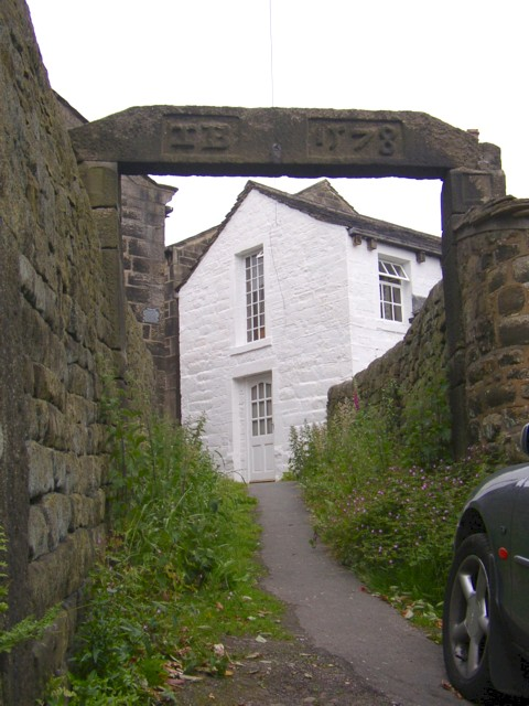 Whitehall Arch, Northgate, Heptonstall