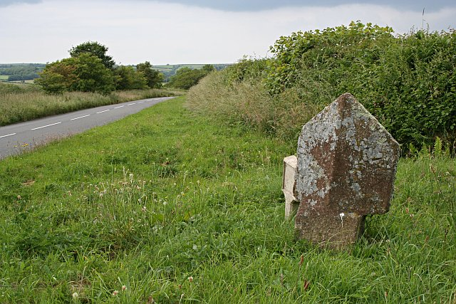 Boundary Stone and Road