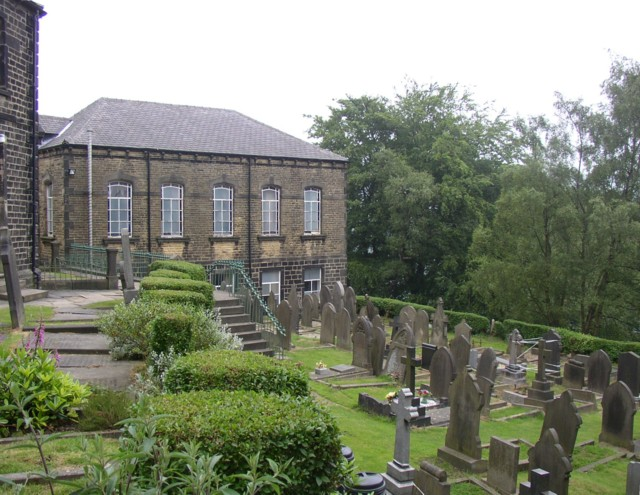 The Methodist Sunday School, Heptonstall
