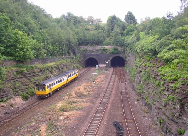 Tunnel portals, Springwood, Marsh (Huddersfield)