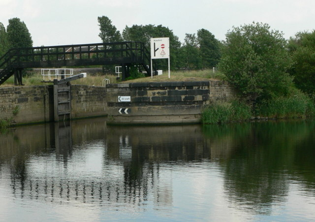 Flood Lock, River Calder, Wakefield