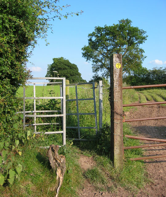 Gate on the Sandstone Trail