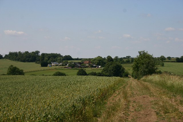Footpath to Wickham House, Denston