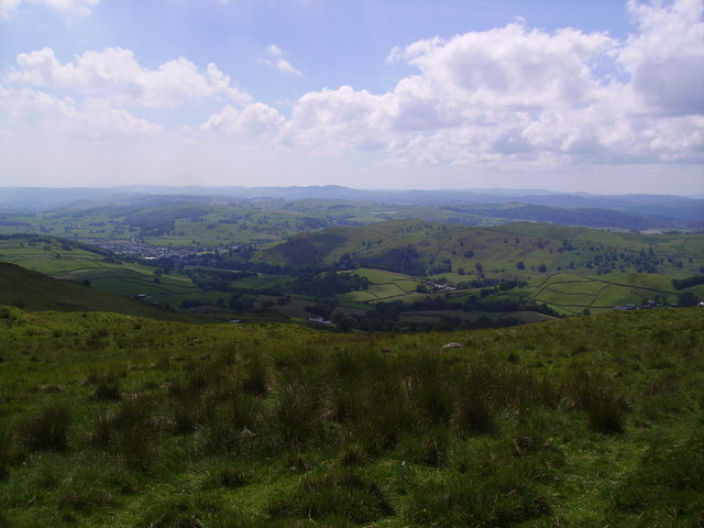 From the flanks of Brunt Knott
